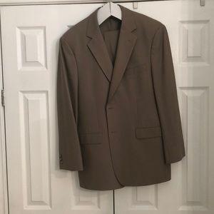 Brooks Brothers Tan suit